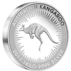 kaenguru 1kg silber 2017 perth mint