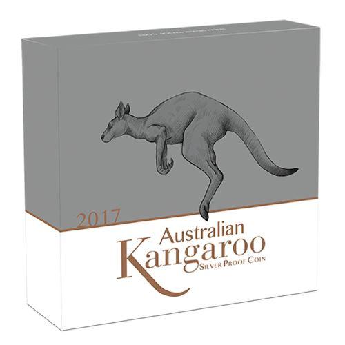 Box Silber Känguru 1 Kilogramm 2017 Perth Mint