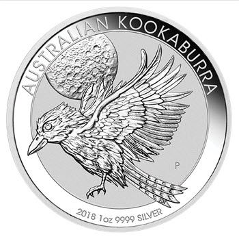 Kookaburra 2018 Silberm 252 Nze Aus Australien Auf Dem Markt