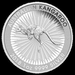 2018 kaenguru silbermuenze perth mint australien