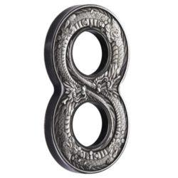 Perth Mint gibt Silbermünze in Form einer ACHT heraus – Lucky Number