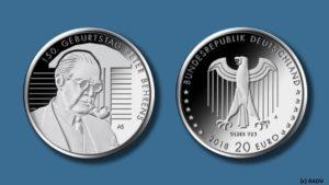 Neue 20 Euro Silbermünzen für Deutschland 2018 beschlossen: Fischer und Behrens