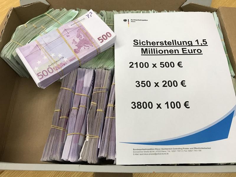 Bargeldgrenzen in Europa