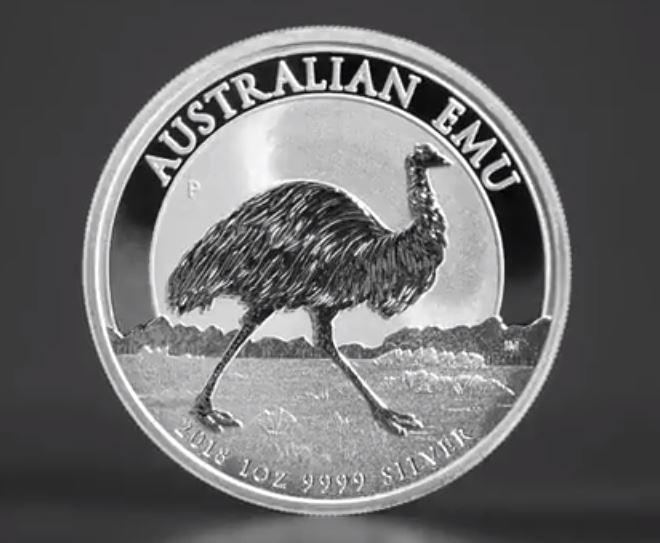 Perth Mint bringt 1 oz EMU Silbermünze 2018 heraus – Auflage 30.000