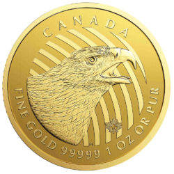 golden eagle - adler 1 oz gold 2018 canada call of the wild