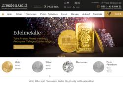 Dresden.Gold GmbH — Edelmetalle und Diamanten zu günstigen Konditionen