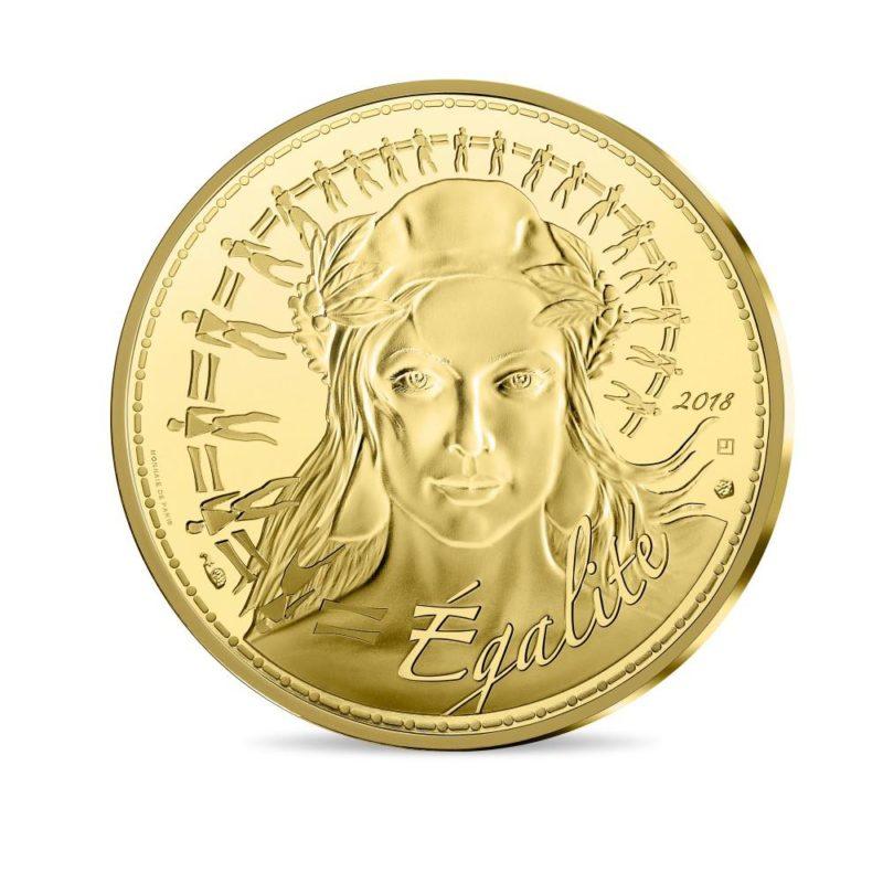 Franzosen bringen neue 1000 Euro Goldmünze Marianne 2018 heraus