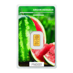Sommer Goldbarren Melone von Argor Heraeus ab heute auf dem Markt – Following Nature Serie