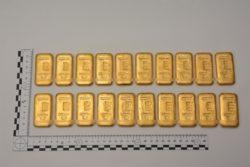 Goldbarren Castasegna Polizei Zoll Schweiz