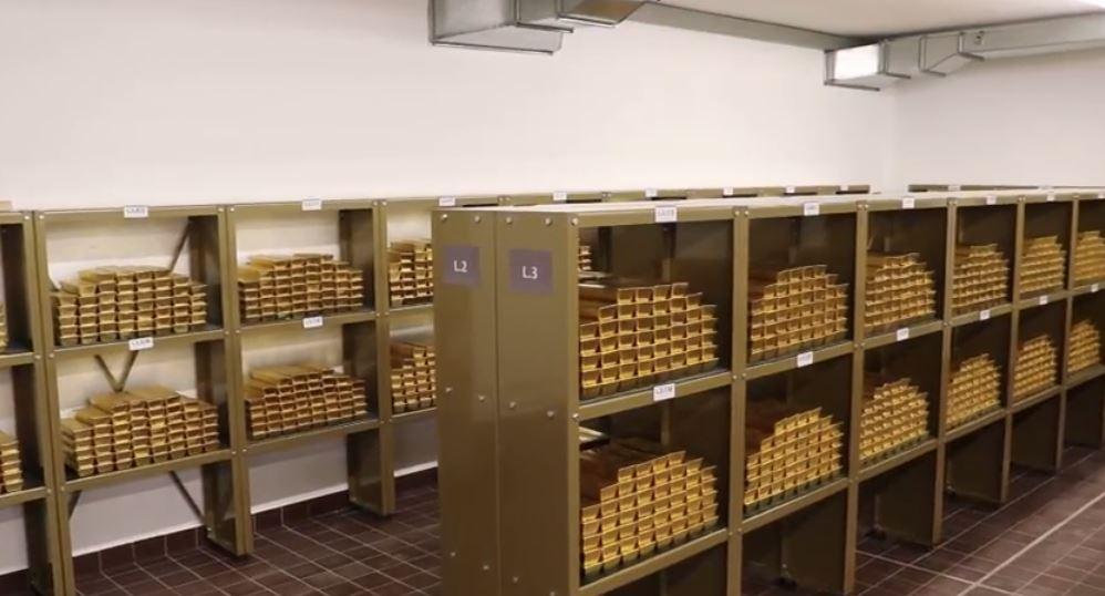 Österreich hat Goldrückholung abgeschlossen – OeNB präsentiert Goldbarren
