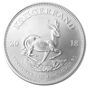 Krügerrand ab 2018 auch in Silber – als Anlagemünze 1oz