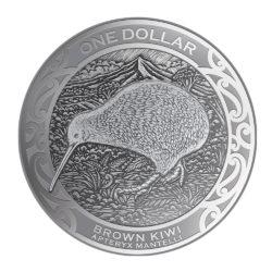 Kiwi 2019 Gold- und Silbermünzen kommen aus Neuseeland