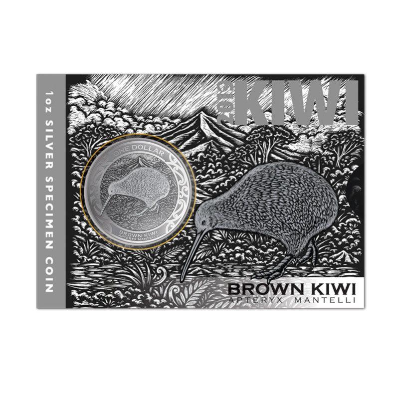 kiwi silbermünze 2019 1oz