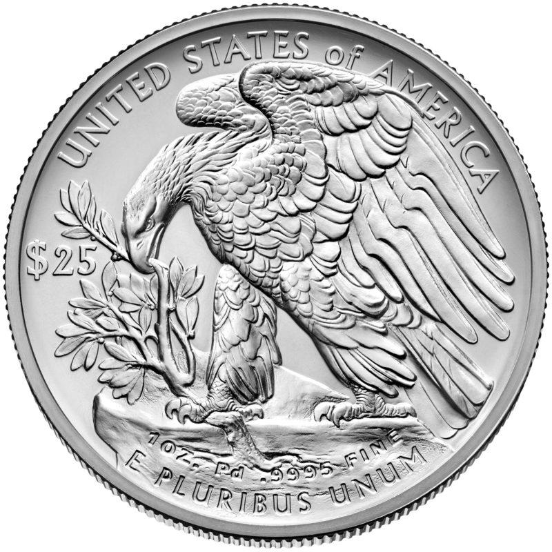 US Mint bringt 2018 keine Palladium Eagle Bullionmünzen heraus – Ausgabe gestoppt