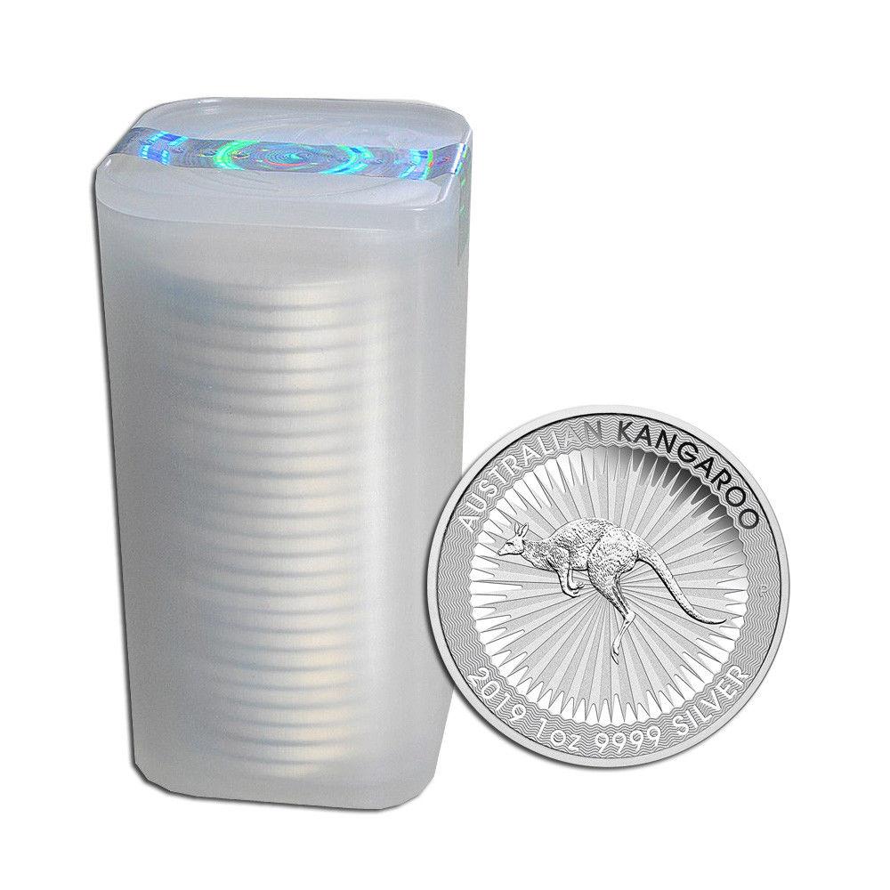 känguru tube mit 25 Münzen