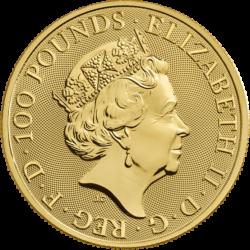 Queen Royal Arms Goldmünze 2019 Großbritannien