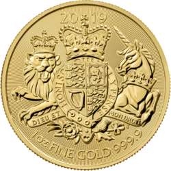 Royal Arms 2019 Goldmünze UK