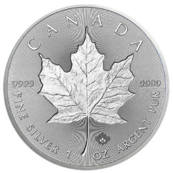 incuse maple leaf silber 2019
