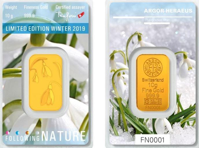 Goldbarren Following Nature Winter 2019