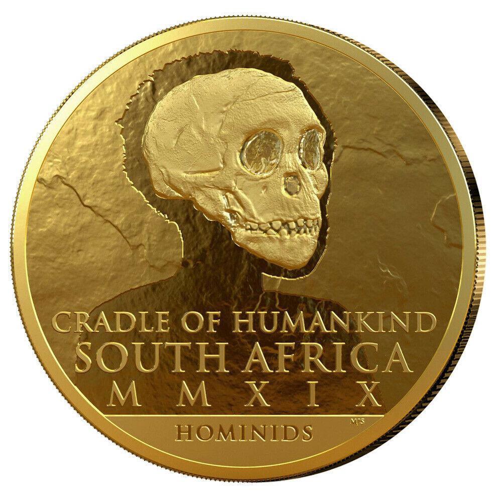 Goldmünze Südafrika Totenschädel 2019 Unze Gold