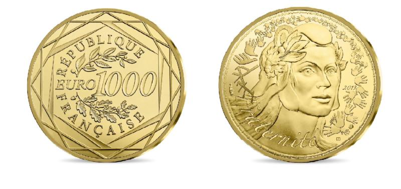 Nur für kurze Zeit: 1000 Euro Goldmünzen für 1000 Euro