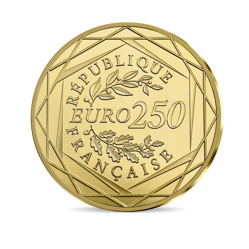250 Euro Goldmünze Frankreich 2019