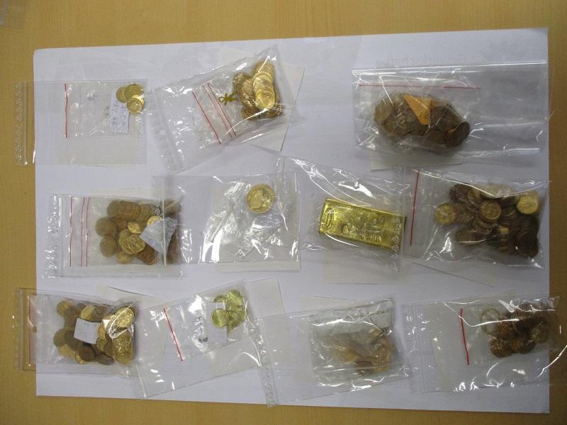 Polizei stoppt auf der A3 Mann mit Gold im Wert von mehr als 200.000 Euro