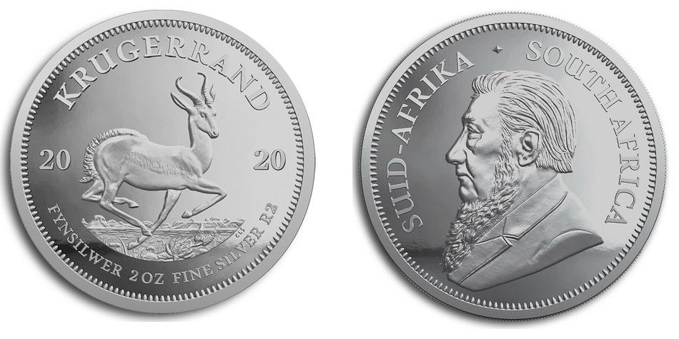 Krügerrand 2020 2oz Silber