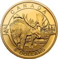 Canadian Wildlife Elch Goldmünzen kaufen