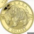 Canadian Wildlife Grizzly Goldmünzen kaufen