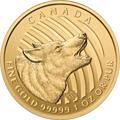 Canadian Wildlife Wolf Goldmünzen kaufen