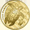 Fiji Taku Schildkroete Goldmünzen kaufen