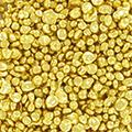 Granulat Pulver Goldmünzen kaufen