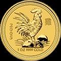 Lunar Hahn Goldmünzen kaufen