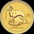 Lunar Hund Goldmünzen kaufen