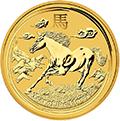 Lunar Pferd Goldmünzen kaufen