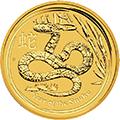 Lunar Schlange Goldmünzen kaufen