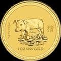Lunar Schwein Goldmünzen kaufen