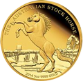 Stock Horse Goldmünzen kaufen