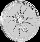 Australian Funnel Web Spider Silbermünzen kaufen