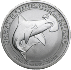 Australian Great Hammerhead Shark Silbermünzen kaufen