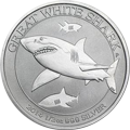 Australian Great White Shark Silbermünzen kaufen