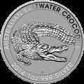 Australian Saltwater Crocodile Silbermünzen kaufen