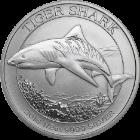 Australian Tiger Shark Silbermünzen kaufen