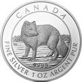 Canadian Arctic Fox Silbermünzen kaufen