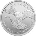 Canadian Birds Of Prey Silbermünzen kaufen