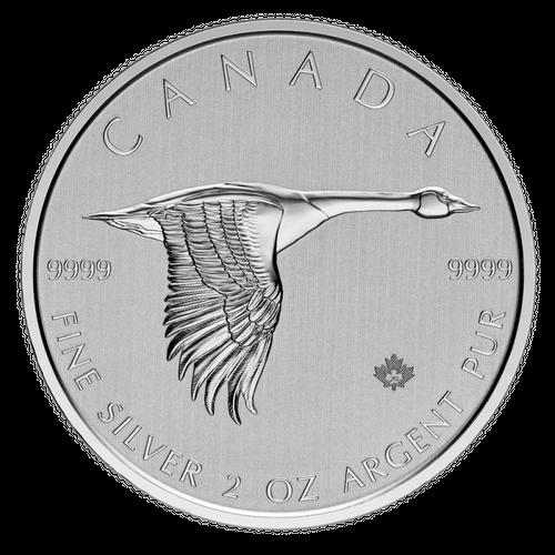 Canadian Goose Silbermünzen kaufen