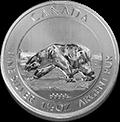 Canadian Polar Bear Silbermünzen kaufen