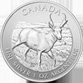 Canadian Wildlife Antilope Silbermünzen kaufen