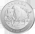 Canadian Wildlife Bison Silbermünzen kaufen